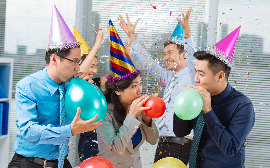 Office Party How To Host The Perfect Company Celebration Corporate Events Sa Up A Tone